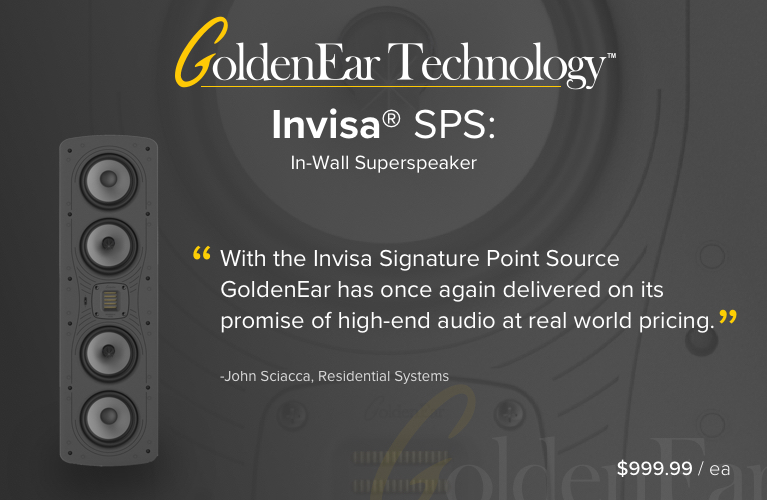 GoldenEar Invisa SPS