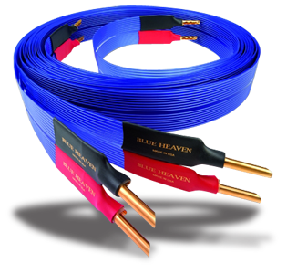 Nordost Blue Heaven LS Speaker Cable Banana Terminated - 2.5 Meters Pair 201110_nordost_blue_heaven