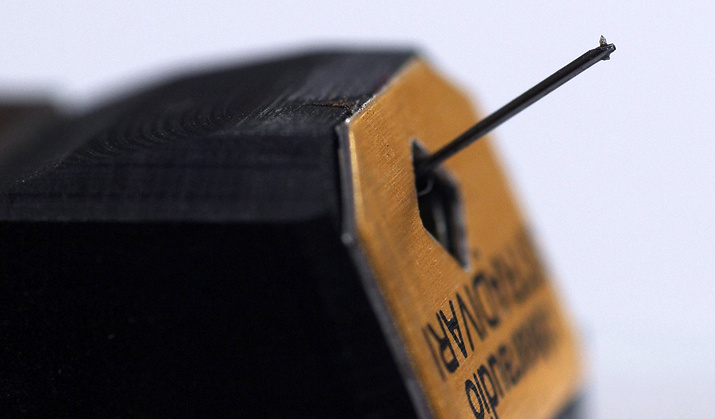 Clearaudio cartridge close-up